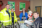GETTING YOU HOME: Some of the staff of Kerry Airport who will deal with up to 5,000 passengers through the airport over the Christmas season, l-r: Donal Walsh, Ieve Kokina, Laura McNamara, Noel Ryan.