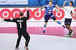 handball wordl cup match between France vs Argentina. porte . 2015/01/26. Doha. Qatar. Alberto de Isidro.Photocall 3000