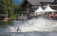 11 JUL 2009 - KITZBUHEL, AUT -  ITU World Championship Series Mens Triathlon (PHOTO (C) NIGEL FARROW)