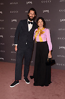 LOS ANGELES, CA - NOVEMBER 04: David de Rothschild, Karina Deyko at the 2017 LACMA Art + Film Gala Honoring Mark Bradford And George Lucas at LACMA on November 4, 2017 in Los Angeles, California. <br /> CAP/MPI/DE<br /> &copy;DE/MPI/Capital Pictures