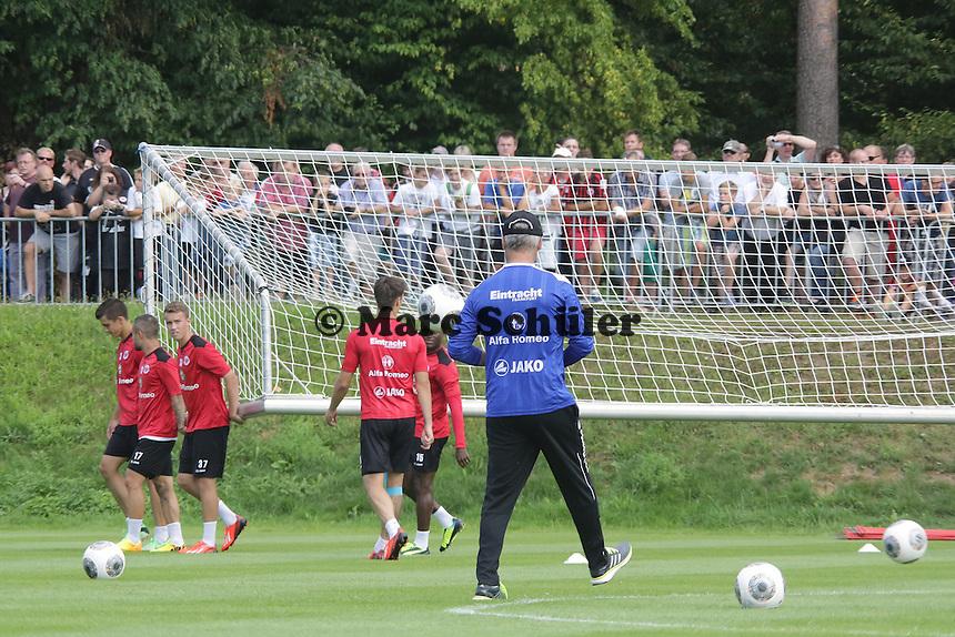 Trainer Armin Veh - Eintracht Frankfurt Saisoneroeffnung