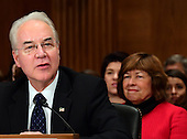 United States Representative Dr. Tom Price (Republican of Georgia) testifies before the US Senate Committee on Health, Education, Labor and Pensions on his nomination to serve as US Secretary of Health and Human Services on Capitol Hill in Washington, DC on Wednesday, January 18, 2017.<br /> Credit: Ron Sachs / CNP