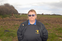 Pictured: Daughter Angela Jones.<br /> Re: A family who waited five hours for an ambulance to get to their farm to help their dying mother say a vet would have attended a sick animal faster.<br /> Tom Roderick, 56, had to watch his mother Valerie, 83, die 'in agony' at home in the village of Scurlage, in the Gower, south Wales, following a heart attack.<br /> By the time an ambulance arrived, grandmother-of-two Mrs Roderick had already passed away.