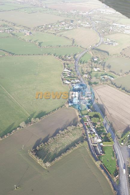 Aerial of Mosney Area N1 Main Road.Photo: Fran Caffrey/ Newsfile.