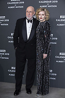 "Albert Watson, Julia Garner attend the gala night for official presentation of the Presentation of the Pirelli Calendar 2019 ""The cal"" held at the Hangar Bicocca. Milan (Italy) on december 5, 2018. Credit: Action Press/MediaPunch ***FOR USA ONLY***"