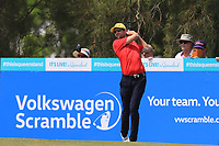 Michael Sim (AUS) on the 3rd tee during Round 3 of the Australian PGA Championship at  RACV Royal Pines Resort, Gold Coast, Queensland, Australia. 21/12/2019.<br /> Picture Thos Caffrey / Golffile.ie<br /> <br /> All photo usage must carry mandatory copyright credit (© Golffile | Thos Caffrey)