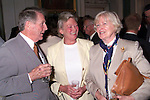 Neil McCann, Joan Finnamore and Mary McCann in Beaulie House for the launch of St. Peter's Church of Ireland restoration fund..Picture Paul Mohan Newsfile