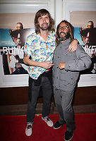 SANTA MONICA, CA - NOVEMBER 1: Pedro Winter, Tony Alva, at the Los Angeles Premiere of documentary Bunker77 at the Aero Theater in Santa Monica, California on November 1, 2017. Credit: Faye Sadou/MediaPunch /NortePhoto.com