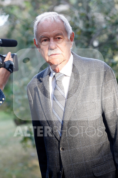 Spanish writer Eduardo Mendoza, awarded the Prize for Literature in Spanish Language Miguel de Cervantes in the edition corresponding to the year 2016. April 19,2017. (ALTERPHOTOS/Acero)