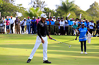 Aaron Rai (ENG) in action during the third round of the Barclays Kenya Open played at Muthaiga Golf Club, Nairobi,  23-26 March 2017 (Picture Credit / Phil Inglis) 25/03/2017<br /> Picture: Golffile | Phil Inglis<br /> <br /> <br /> All photo usage must carry mandatory copyright credit (© Golffile | Phil Inglis)