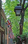Street scene, Society Hill, Philadelphia, PA