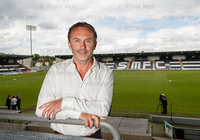 11.06.18 Gordon Scott, St Mirren chairman