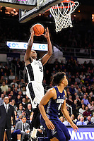 Wednesday, January 4, 2016: Providence Friars forward Rodney Bullock (5) takes a shot during the NCAA basketball game between the Georgetown Hoyas and the Providence Friars held at the Dunkin Donuts Center, in Providence, Rhode Island. Providence defeats Georgetown 76-70 in regulation time. Eric Canha/CSM