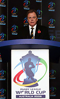PICTURE BY VAUGHN RIDLEY/SWPIX.COM - Rugby League - Rugby League World Cup 2008 - Press Launch - Leeds, England - 06/11/07...Copyright - Simon Wilkinson - 07811267706..Tournament Director Colin Love.