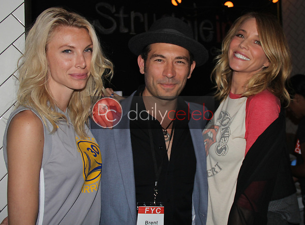 "Crystal Ogle, Brent Harvey, Kristen Dalton<br /> at the ""Struggleing"" For Your Consideration event hosted by A. Whole Productions and Brent Harvey Films, Crossroads Kitchen, Los Angeles, CA 06-06-18<br /> David Edwards/DailyCeleb.com 818-249-4998"