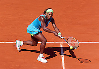 24-05-10, Tennis, France, Paris, Roland Garros, First round match, Serena Williams