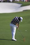 Rory McIlroy plays his 2nd shot on the 5th hole during  Day 3 at the Dubai World Championship Golf in Jumeirah, Earth Course, Golf Estates, Dubai  UAE, 21st November 2009 (Photo by Eoin Clarke/GOLFFILE)