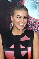 Carmen Electra at the premiere of Columbia Pictures' 'The Amazing Spider-Man' at the Regency Village Theatre on June 28, 2012 in Westwood, California. © mpi22/MediaPunch Inc. *NORTEPHOTO.COM*<br />
