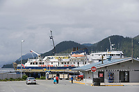 Alaska Marine Ferry Terminal in Sitka, Alaska