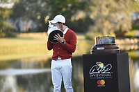 Rory McIlroy winning the Arnold Palmer Invitational presented by Mastercard, Bay Hill, Orlando, Florida, USA. March 18, 2018.<br /> Picture: Golffile | Dalton Hamm<br /> <br /> <br /> All photo usage must carry mandatory copyright credit (&copy; Golffile | Dalton Hamm)