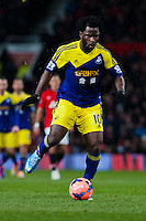 Sunday 05 January 2014<br /> Pictured:Wilfried Bony<br /> Re: Manchester Utd FC v Swansea City FA cup third round match at Old Trafford, Manchester