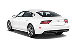 Car pictures of rear three quarter view of 2016 Audi A7 3.0 TDI Premium Plus  4 Door Hatchback angular rear