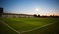Borehamwood FC Stadium during the Pre Season Friendly match between Borehamwood and Watford at Borehamwood FC, London, England on 24 July 2014. Photo by Andy Rowland.