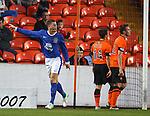 Ross Barkley celebrates his goal for Everton