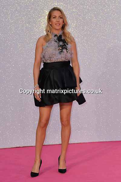 NON EXCLUSIVE PICTURE: MATRIXPICTURES.CO.UK<br /> PLEASE CREDIT ALL USES<br /> <br /> WORLD RIGHTS<br /> <br /> British singer-songwriter Ellie Goulding attends the world premiere of &quot;Bridget Jones's Baby&quot; at Leicester Square in London.<br /> <br /> SEPTEMBER 5th 2016<br /> <br /> REF: JWN 162864