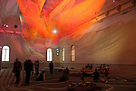 """Wonder"" is the inaugural exhibition at the Renwick Gallery in Washington D.C. - Artist Janet Echelman"