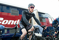 Picture by Allan McKenzie/SWpix.com - 14/07/17 - Cycling - HSBC UK British Cycling National Circuit Series - Velo29 Altura Criterium - Stockton, England - JLT Condor's Ed Clancy warms up.