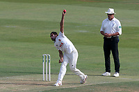 Mohammad Amir of Essex in bowing action during Essex CCC vs Middlesex CCC, Specsavers County Championship Division 1 Cricket at The Cloudfm County Ground on 26th June 2017