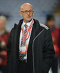 Serbia Manager Slavoljub Muslinduring the FIFA World Cu  Qualifying match at the Cardiff City Stadium, Cardiff. Picture date: November 12th, 2016. Pic Robin Parker/Sportimage