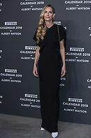 "Georgina Grenville attends the gala night for official presentation of the Presentation of the Pirelli Calendar 2019 ""The cal"" held at the Hangar Bicocca. Milan (Italy) on december 5, 2018. Credit: Action Press/MediaPunch ***FOR USA ONLY***"