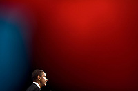 President Barack Obama takes questions during a press conference at the G20 Summit in Toronto, Canada, Sunday, June 27, 2010. (Official White House Photo by Pete Souza)<br /> <br /> This official White House photograph is being made available only for publication by news organizations and/or for personal use printing by the subject(s) of the photograph. The photograph may not be manipulated in any way and may not be used in commercial or political materials, advertisements, emails, products, promotions that in any way suggests approval or endorsement of the President, the First Family, or the White House.