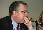 19 January 2008: Boston Breakers President and General Manager Joe Cummings. Women's Professional Soccer held a Town Hall Meeting at the 2008 National Soccer Coaches Association of America's annual convention being held at the Convention Center in Baltimore, Maryland.
