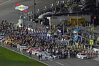 12-13 February, 2016, Daytona Beach, Florida, USA<br /> The grid<br /> ©2016, F. Peirce Williams