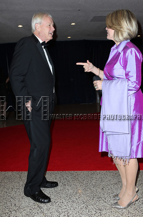 MSNBC's Chris Matthews and his wife, Marriott VP Kathleen Matthews.attending the 98th Annual White House Correspondents' Association Dinner at the Washington Hilton on April 28, 2012 in Washington, DC.