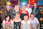 4530-4533.---------.The big Four 0.--------------.Linda Harrington,Cois Coille,Tralee(seated 2nd from the Lt)celebrated her 40th birthday last Saturday night in the Huddle bar,Strand Rd,Tralee,also seated were L-R Tracey Heaphy,Linda Harrington,Joan Buckley and Brendan Danials. (back)L-R Tom Murray,Shirley,Geraldine and Steven Hourigan with Eugene Fitzgerald.