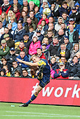 10th September 2017, Sixways Stadium, Worcester, England; Aviva Premiership Rugby, Worcester Warriors versus Wasps; Hits the post