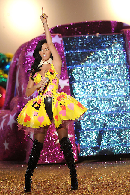 WWW.ACEPIXS.COM . . . . .....November 10 2010, New York City....Katy Perry performs on the runway during the 2010 Victoria's Secret Fashion Show at the Lexington Armory on November 10, 2010 in New York City.  ....Please byline: KRISTIN CALLAHAN - ACEPIXS.COM.. . . . . . ..Ace Pictures, Inc:  ..(212) 243-8787 or (646) 679 0430..e-mail: picturedesk@acepixs.com..web: http://www.acepixs.com