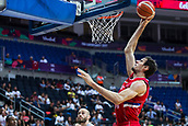 7th September 2017, Fenerbahce Arena, Istanbul, Turkey; FIBA Eurobasket Group D; Belgium versus Serbia; Center Boban Marjanovic #51 of Serbia dunks on the basket during the match