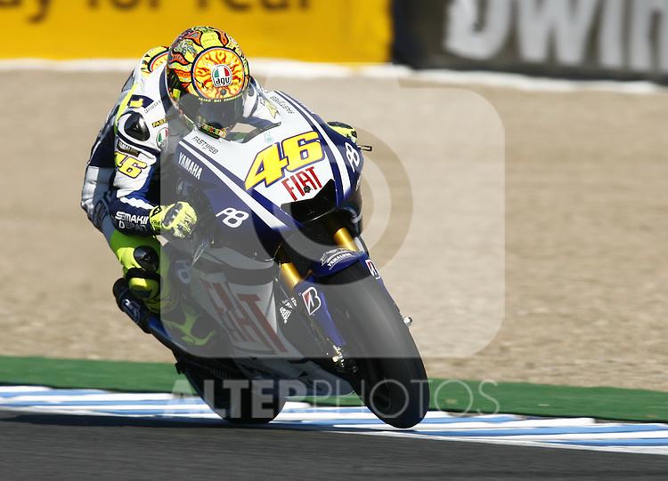 MOTOCICLISMO - G.P. ESPAÑA - JEREZ DE LA FRONTERA - 2/5/2010 - MOTOGP - VALENTINO ROSSI