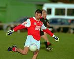 Junior Gaa saturday 2/12/00.;..Ballyboden st Endas V St. Brigids .Joey Twomey (Brigids). .pics;Paul Nicholls/MediaPix