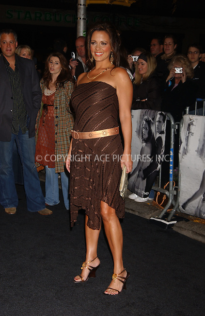 "WWW.ACEPIXS.COM . . . . .  ....November 13 2005, New York City....Sara Evans....Red Carpet arrivals at the 20th Century Fox premiere of ""walk The Line"" at the Beacon Theatre....Please byline: AJ Sokalner - ACE PICTURES..... *** ***..Ace Pictures, Inc:  ..Philip Vaughan (212) 243-8787 or (646) 769 0430..e-mail: info@acepixs.com..web: http://www.acepixs.com"