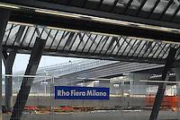 - Milan, the new Rho - Fair railway station....- Milano, la nuova stazione ferroviaria di Rho - Fiera..