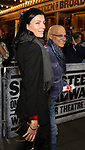 Jimmy Iovine and wife Liberty Ross attending the opening night performance for 'Springsteen on Broadway' at The Walter Kerr Theatre on October 12, 2017 in New York City.