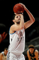 Real Madrid's Nikola Mirotic during Euroliga match. February 28,2013.(ALTERPHOTOS/Alconada)