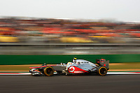 ATENCAO EDITOR - IMAGEM EMBARGADA PARA VEICULOS INTERNACIONAIS - <br /> YEONGAM, COREIA DO SUL, 14 OUTUBRO 2012 - F1 - GP DA COREIA DO SUL - O piloto britanico Lewis Hamilton da equipe McLaren durante o GP da Coreia do Sul, neste domingo, 14. (FOTO: PIXATHLON / BRAZIL PHOTO PRESS).