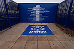 Everton 2 Wolves 1, 19/11/2011. Goodison Park, Premier League. Everton 1, a list of the clubs firsts, e.g, the first purpose built football stadium, outside Goodison Park. Photo by Paul Thompson.